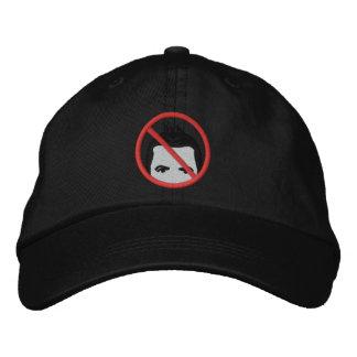 Hombres sin el gorra del pelo gorra de béisbol bordada