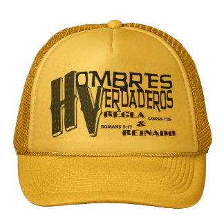 HOMBRES VERDADEROS REGLA & REINADO© CASTILLO TRUCKER HAT