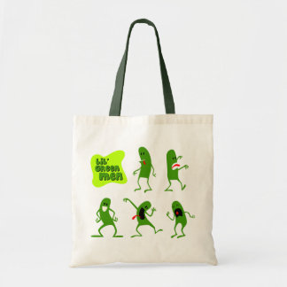 Hombres verdes de Lil Bolsa De Mano