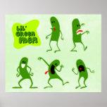 Hombres verdes de Lil Impresiones