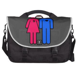 Hombres y mujeres bolsa para ordenador