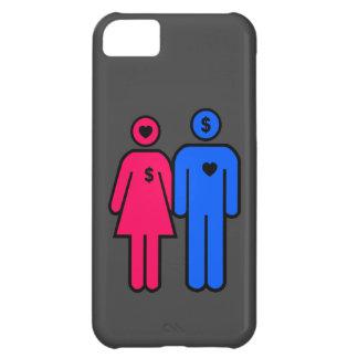 Hombres y mujeres funda para iPhone 5C