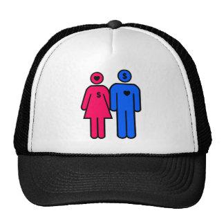 Hombres y mujeres gorras