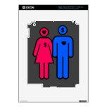 Hombres y mujeres iPad 3 pegatina skin