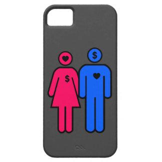 Hombres y mujeres iPhone 5 carcasas