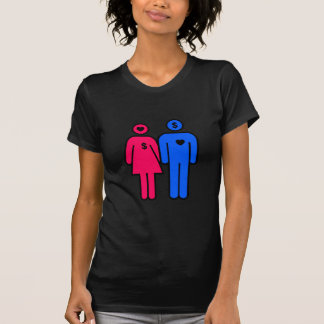 Hombres y mujeres t-shirts