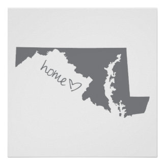 Home <3 Maryland Poster