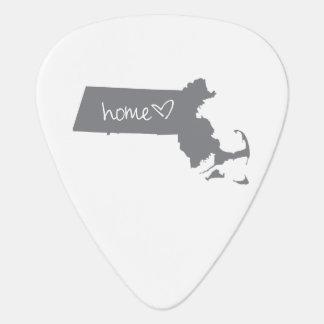 Home <3 Massachusetts Guitar Pick