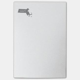 Home <3 Massachusetts Post-it® Notes
