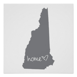 Home <3 New Hampshire Poster