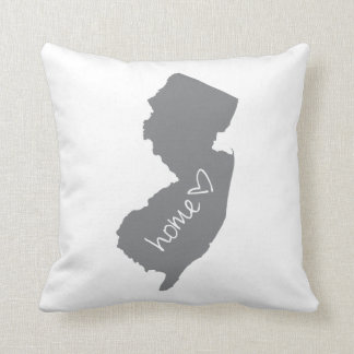 Home <3 New Jersey Throw Pillow