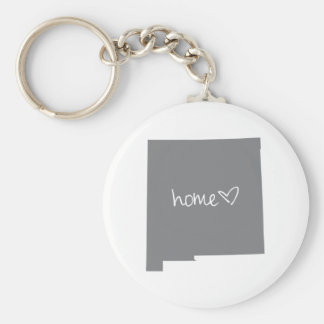 Home <3 New Mexico Keychain