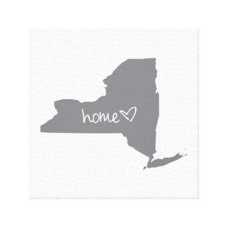 Home <3 New York Canvas Print