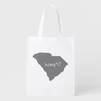 Home <3 South Carolina Reusable Grocery Bag