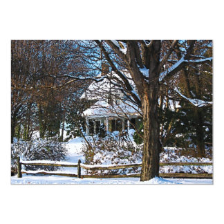 Home After the Snowstorm Card