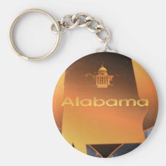 Home Alabama Key Chains
