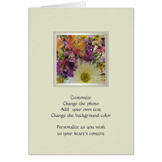 Home and Garden ~ Flowers ~ Shasta Daisy Mix Card
