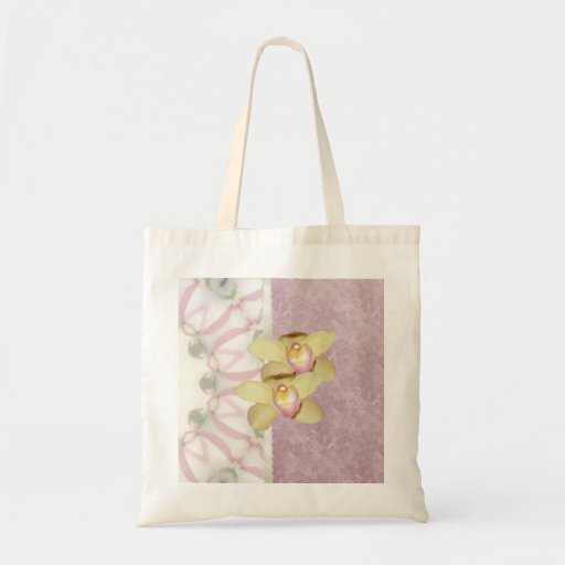 Home and Garden ~ Orchids Canvas Bags