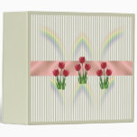 Home and Garden ~ Spring Tulips 3 Ring Binder