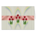 Home and Garden ~ Spring Tulips Greeting Cards