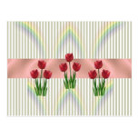 Home and Garden ~ Spring Tulips Postcard