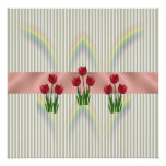 Home and Garden ~ Spring Tulips Poster