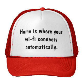 Home and Wifi Hat