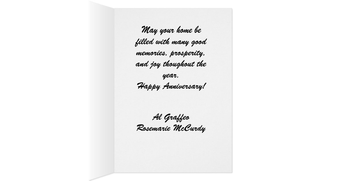 Home Anniversary - Realtor Greetings Card | Zazzle
