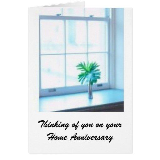 Home Anniversary - Realtor Greetings Greeting Card