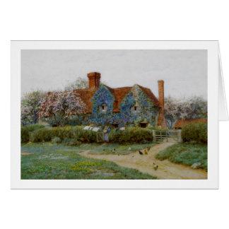 Home at Buckinghamshire c1900 Card