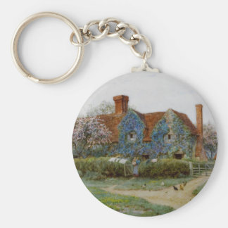 Home at Buckinghamshire c1900 Keychain