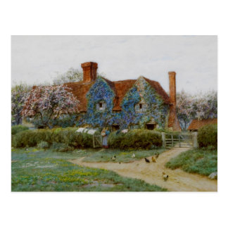Home at Buckinghamshire c1900 Postcard
