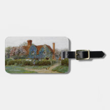 Home at Buckinghamshire c1900 Travel Bag Tags