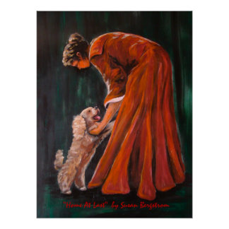 """""""Home At Last""""  by Susan Bergstrom Posters"""