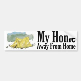 Home Away From Home Bumper Sticker Car Bumper Sticker