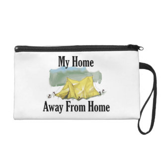 Home Away From Home Clutch Wristlet
