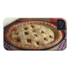 Home baked apple pie on cooling rack with apple iPhone 4 cover