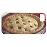 Home baked apple pie on cooling rack with apple iPhone 5 covers