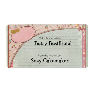 Home Baked Goods Personalized Labels Custom Shipping Labels