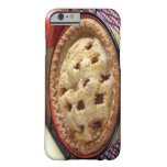 Home baked pie on cooling rack with barely there iPhone 6 case