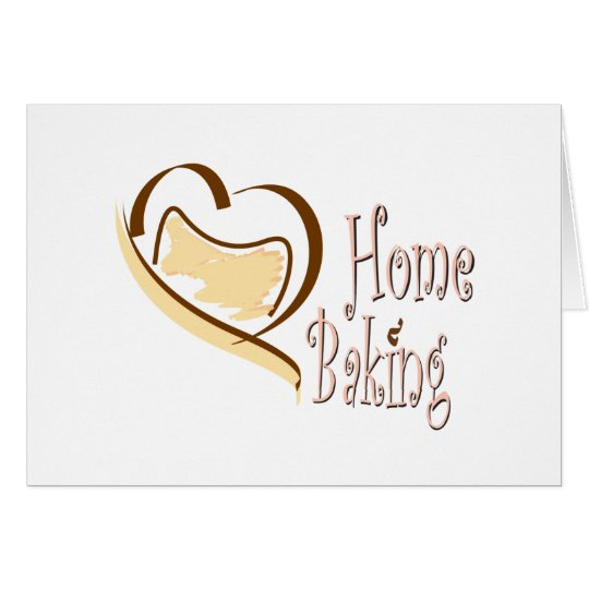 Home Baking Card