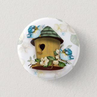 HOME BIRD SONGS Button  Small, 1¼ Inch