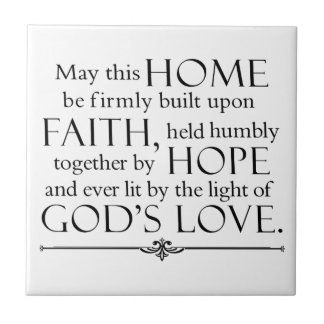 Home Blessing Tile
