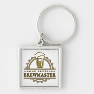 Home Brew Beer Brewmaster Keychain