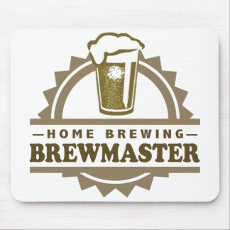Home Brew Beer Brewmaster Mouse Pad