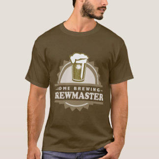 Home Brew Beer Brewmaster T-Shirt