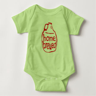 Home Brewed Onsie Baby Bodysuit