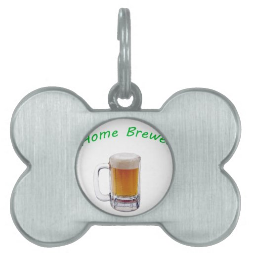 Home Brewer Pet Tag