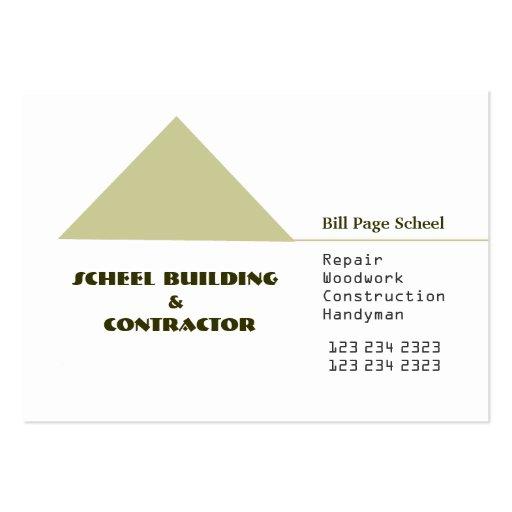 Construction Business Card Templates Page58 Bizcardstudio
