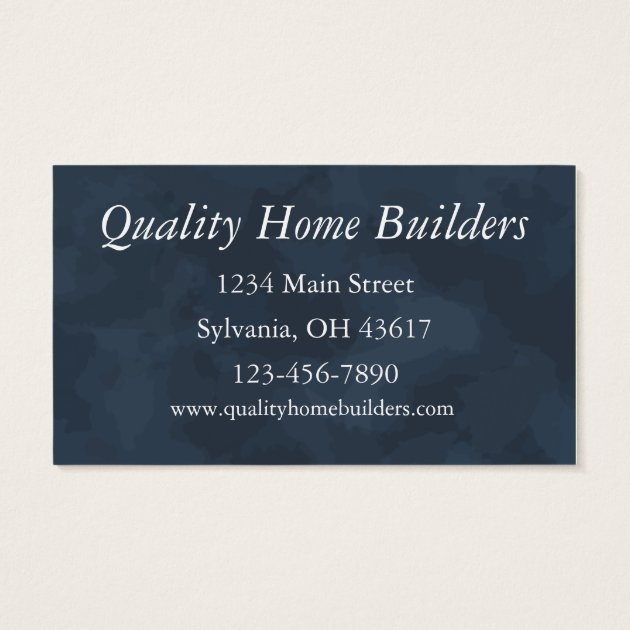Home Builder Business Card | Zazzle